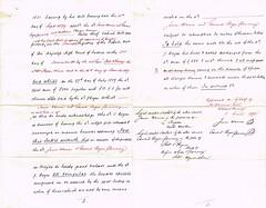 Draft Reconveyance of the Fleece, East Dereham, Norfolk, held by John Boyce, Brewer by Representatives of James Warner Deceased. 1895. p2-3 (North West Kent Family History Society) Tags: draftreconveyance fleece eastdereham norfolk johnboyce brewer representatives jameswarnerdeceased edwardboycepomeroy solicitor jameswarnerjuniour farmer 16thmay1895 ecbdcollection indentures 13thfebruary1865 annbarnes 22ndaugust1876 charlesbarnes1891census wife emmajanebullard married 2ndjul1853 greatporingland catton