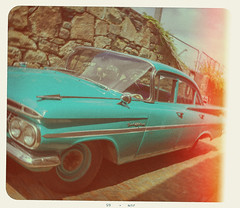 Retro Processing Experiment (pni) Tags: car penzance retrolook imageediting cinc example experiment teaching education vnf västranylandsfolkhögskola helsinki helsingfors finland suomi pekkanikrus skrubu pni postproduction
