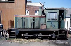 2870 E30 Midland Workshops 14 March 1982 (RailWA) Tags: railwa philmelling westrail 1982 e30 midland workshops