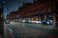 Deansgate, Manchester (Kev Walker ¦ 7 Million Views..Thank You) Tags: architecture building canon1855mm canon700d christmasmarket citycentre digitalart hdr lancashire manchester northwest postprocessing