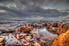 Tidepool #2 (Michael F. Nyiri) Tags: cabrillobeach california southerncalifornia beach clouds sky rockyshore rocks tidepools sanpedro