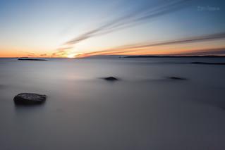 Moutmarka sunset