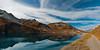 Lac de La Sassière (corinnemorand) Tags: savoie savoiemontblanc tarentaise tignes alpes auvergnerhônealpes alps automne autumn frenchalps fallcolours landscapephotography landscape lake montagne mountain mountainlake réservenaturelledelagrandesassière randonnée reflets reflects hiking