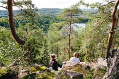 kammiovuori-nakoalapaikka_3-eetulinnankivi_29584100090_o (Outdoors Finland) Tags: kammiovuori mennäänmetsään sysmä näköalapaikka