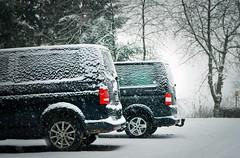 BlackBrosInTheSnow (BphotoR) Tags: car vw volkswagen t5 black brothers blackbrothers blackbros bphotor snow snowfall winter schnee schneefall december