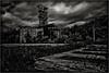奔別 (PONBETSU) (SHADOWY HEAVEN) Tags: 1510100219 日本 北海道 ファインダー越しの私の世界 写真好きな人と繋がりたい 写真撮ってる人と繋がりたい 写真の奏でる私の世界 風景写真 炭坑 三笠 廃屋 廃墟 モノクロ モノクローム モノクロ写真 白黒写真 空 雲 coregraphy japan hokkaido monochrome mono monotone blackandwhite bw bnw blackwhite noiretblanc japaninbw outdoor landscape paysage cloud clouds sky weeds grass surreal abandoned decay rusty rustic history ruin mine coalmine
