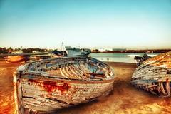 Boats... (hobbit68) Tags: sonnenschein spain spanien  espagne espana andalucia andalusisch andalusien travel traveling reise urlaub holiday 🚣 boote water wasser aqua küste strand beach hafen novo sancti petri sand atlantik