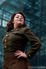 Oh Peggy, You impress me so... (dgwphotography) Tags: agentcarter captainamerica ssr cosplay nycc nycc2017 newyorkcomiccon nikond500 50mmf18g