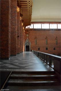 Escalinata Sala Azul (Blå hallen) -  Stockholms stadshus