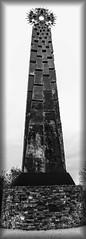 Celtic cross b&w (wilstony1) Tags: celticcross cornishcross landmark cornwall saltash daytime daylight blackandwhite canoneos650d canont4i mono