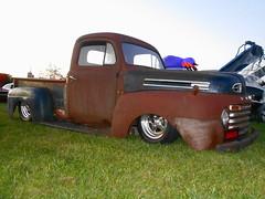 1949 Ford F-1 (splattergraphics) Tags: 1949 ford f1 pickup truck custom rust patina slammed ratrod cruisenight motormenders marketsatshrewsbury glenrockpa