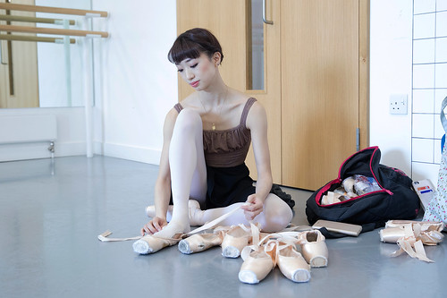 b2b7f03d3 How the right pair of pointe shoes can make all the difference to a ...