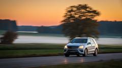 In Bewegung (DerHarlekin) Tags: mercedes benz daimler movement bewegung motion blur sunset