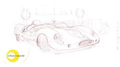 Cooper s (Stefan Marjoram) Tags: sketch drawing ipad pro procreate apple pencil car vintage racing plein air