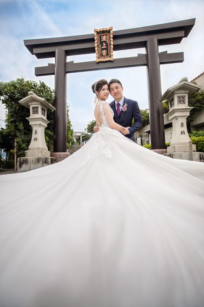 沖繩婚紗,波上宮婚紗拍攝