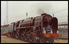 No 71000 Duke Of Gloucester Ely (Ian Sharman 1963) Tags: no 71000 duke of gloucester ely station steam engine railway rail railways train trains loco locomotive waml west anglia mainline