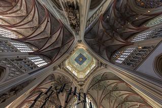 Gothic rib-vault ceiling 44219