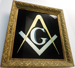 Square and compass and G (Will S.) Tags: wallhanging decoration squareandcompass masonic mypics masonictemple carletonplace poem ontario canada freemasons masonry lodge freemasonry masons shriners gaotu