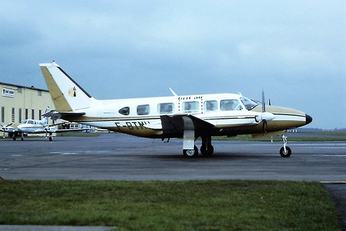 F-BTMU Piper Navajo Brit Air CVT 27-03-80