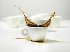 Coffee Splash 2 (michele franzese) Tags: tazzadicaffe caffè drops splash cup cupofcoffee coffee coffeedrops gocce lumix lumixg gh5 lumixgh5 panasoniclumixg elitegalleryaoi bestcapturesaoi aoi