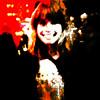 smiling girl II (j.p.yef) Tags: peterfey jpyef yef digitalart photomanipulation people portrait girl theresa smiling laughing rot schwarz red black square