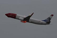 Norwegian Air International Boeing 737-8JP(WL) EI-FJY Clara Campoamor (EK056) Tags: norwegian air international boeing 7378jpwl eifjy clara campoamor düsseldorf airport