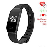 Blood Pressure Smart Watch NEWYES S7 Fitness Tracker Smart Bracelet with SPO2H Heart rate monitor Sleep Management Pedometer for Android IOS Smartphone (black) (trolleytrends) Tags: android black blood bracelet fitness heart management monitor newyes pedometer pressure rate sleep smart smartphone spo2h tracker watch with