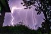 Thunder Storm at Dusk III (imageo) Tags: lightening storm weather dusk wheelerhill