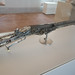 Hunting rifle with ivory inlay