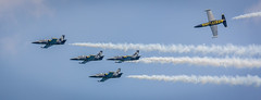 Breitling Air Team (FindingBrightside) Tags: formation airshow breitling aerobatic team