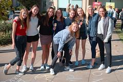 CL20171121-001.jpg (Menlo Photo Bank) Tags: chalk photobycyruslowe girls people drawing formalgroupphoto upperschool 2017 fall quad menloschool atherton ca usa us