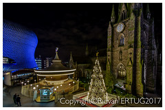 St. Martin's Square - St Martin's Church and Bullring Shopping Centre - Birmingham (I'll catch up with you later, your comments and cr) Tags: stmartinssquare stmartinschurch bullringshoppingcentre birmingham nikon1635mmf40 nikond610fx rertug
