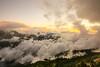 合歡山昆陽的夕雲(Sunset clouds @ Mt.Hehuan)。 (Charlie 李) Tags: 5d3 canon sunset kunyang mthehuan 雲海 夕陽 台灣 仁愛鄉 南投縣 昆陽 合歡山