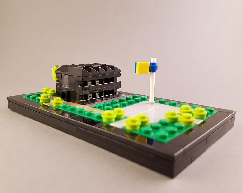 lego office building. Micro Office Building MOC II (betweenbrickwalls) Tags: Lego Moc Afol Microscale 1
