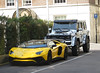 Lamborghini Aventador SV Roadster,  Mercedes G63 4x4 Squared (p3cks57) Tags: lamborghini aventador sv roadster supercars cars worldcars hypercars yellow arabs mercedes g63 4x4 squared
