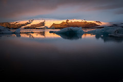 Lagune glaciaire Jökulsárlón, 7h34 (mgirard011) Tags: austurland islande is