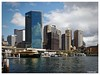 Sydney Skyline (PEN-F_Fan) Tags: building circularquay cityscape australia mft colorfilmsslide filmlook raw architecture photography sydney kodakkodachrome25 water terminal olympuspenf skyscraper buildings microfourthirds newsouthwales micro43 harbor ferry mzuiko12100mmf40pro city skyline waterfront sky boat photoborder photoframe