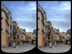 Zwickauer Straße, Reichenbach i.V. / Stereoscopy / CrossEye / HDR / Raw (Stereotron) Tags: saxony sachsen vogtland reichenbach neuberin brunn cunsdorf friesen mylau obermylau oberreichenbach rotschau schneidenbach neuberinstadt zwickauer strase posteck vogtländische buchhandlung europe germany crosseye crosseyed crossview xview cross eye pair freeview sidebyside sbs kreuzblick 3d 3dphoto 3dstereo 3rddimension spatial stereo stereo3d stereophoto stereophotography stereoscopic stereoscopy stereotron threedimensional stereoview stereophotomaker stereophotograph 3dpicture 3dglasses 3dimage hyperstereo twin canon eos 550d yongnuo radio transmitter remote control synchron kitlens 1855mm tonemapping hdr hdri raw