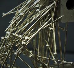 metal to metal (iwbaird) Tags: stick macromondays pins magnet fuji macro magnets closeup smileonsaturday shinymetal