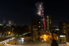 5th November 2017 Fireworks (5 of 5) (johnlinford) Tags: canoneos7d firework fireworks landscape london longexposure night poplar urban