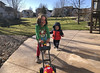 Crisp (evaxebra) Tags: wisconsin wi luna ash mower bubbles lawnmower fun running