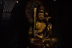 Buddha (pangwillis) Tags: buddha dimlight dim dark yellow taiwan taipei 淡水