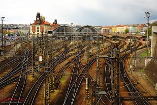 Prague Main Railway Station; Praha Hlavní Nád