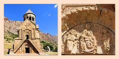 Eglise Sourp Astavatsadin (Raymonde Contensous) Tags: eglise arménie monastèredenovarank eglisesourpastavatsadin