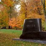 """Cincinnati – Spring Grove Cemetery & Arboretum """"Autumn Sweep - Upper(New) Section"""