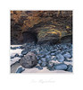 """Kenneggy Beach - Cornwall (Joe Rainbow) Tags: landscape cornwall film velvia50 mamiyarz67proii beach stones sand cave minerals"