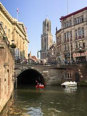 Utrecht (Ralph Apeldoorn) Tags: bridge brug canal church dom gracht kerk toren tower utrecht nederland nl