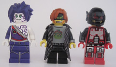 Shimmer, S1m0n, Micro Man (Quickblade22) Tags: superheroes superpowers supervillains comics comicbook custom capemadness brickforge minifigcat
