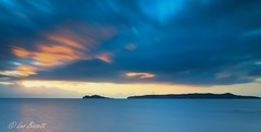 Ireland sunrise (Leo Bissett) Tags: ireland sunrise howth head island clouds sea bay sky cloud longexposure