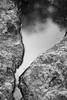 Rock and Water (trustytrout) Tags: adirondacks blackandwhite highpeaks nature northeast rock water